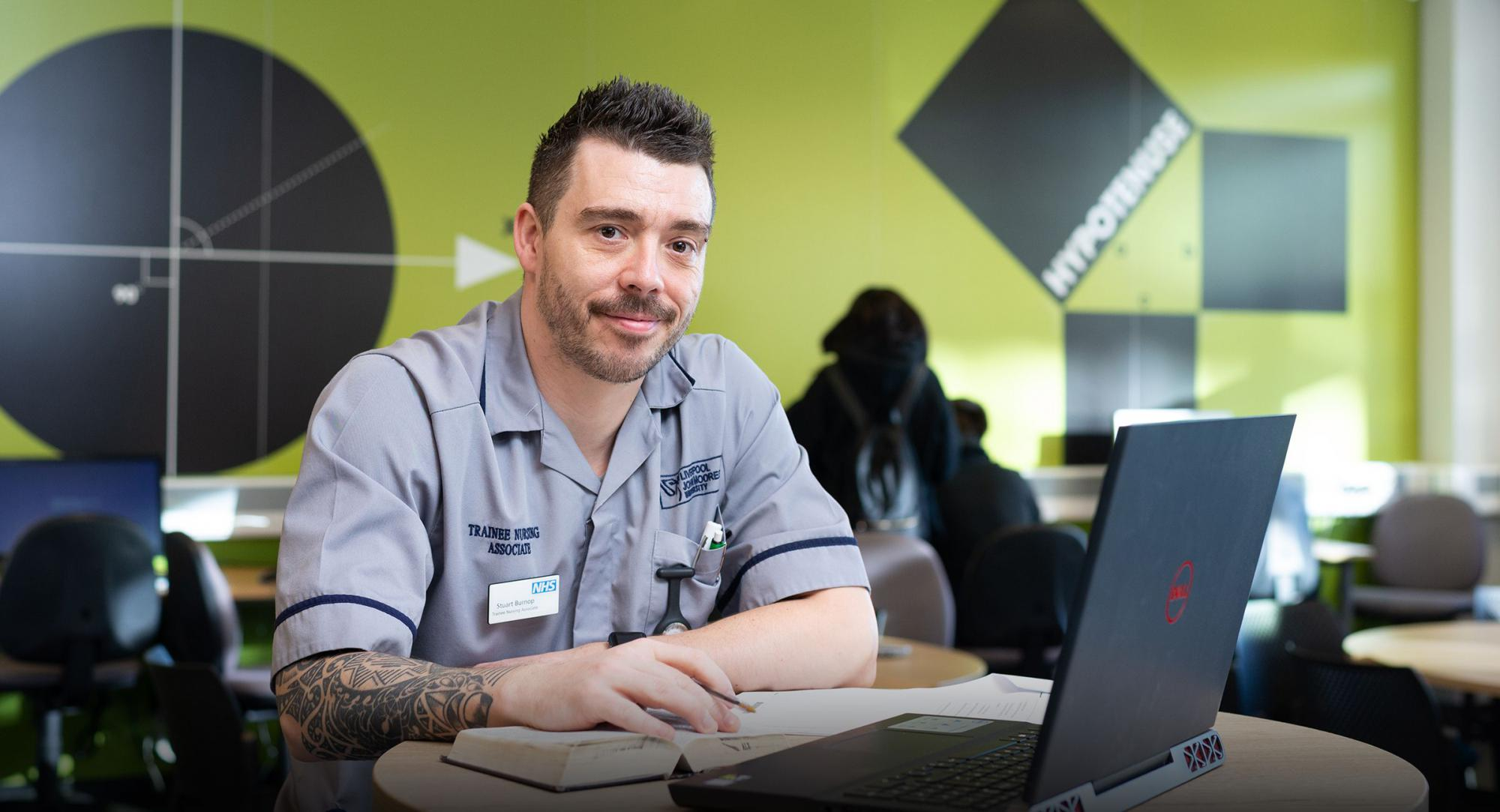 Adult Learner studying Maths, English and Nursing at Burnley College